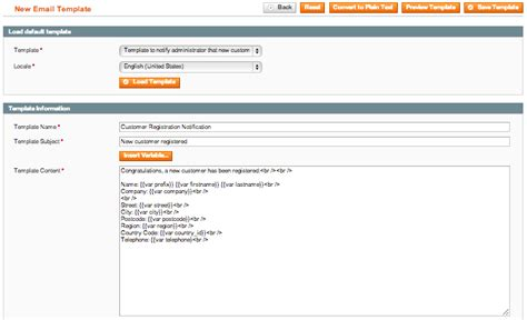 customer registration notification magento connect