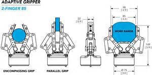 robotiq 2 finger 85 140 robot gripper bolee machine
