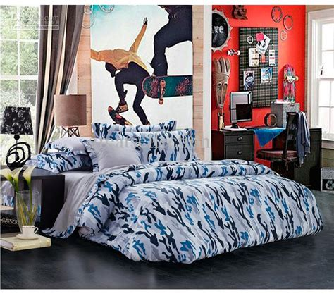 cool comforters for guys newest blue camouflage cool bedding sets queen full size