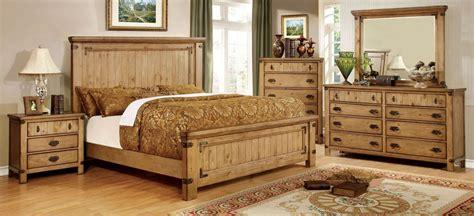 pine platform bed pioneer burnished pine platform bedroom set cm7449q bed furniture of america