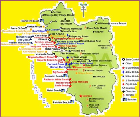 map of tourist attractions 2 goa tourism map tourist attractions in goa goa tourist