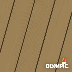 olympic maximum  gal butternut solid color exterior