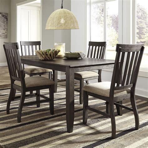 piece rectangular dining table set  signature design