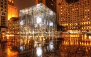 apple store new york city desktop wallpaper