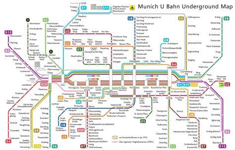 munich map m 252 nchen munich u bahn map rings chameleon web services
