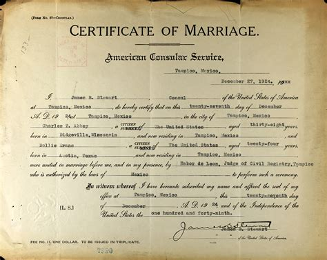 Connecticut Marriage License Records Mexico Marriage Certificate Pictures To Pin On