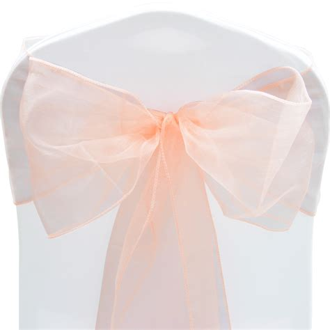 organza chair sashes organza sashes chair cover sash fuller bow wedding