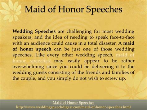Honor Speeches And Sweet Sles of honor speeches make them but sweet