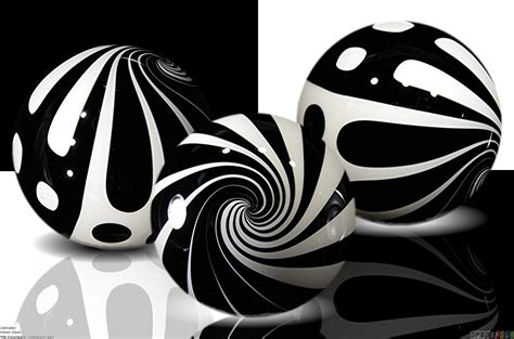 black and white marble balls wallpaper 23904 open walls
