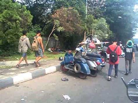Modifikasi Motor Vespa Otopet by Vespa Gembel Acara Semarang Doovi
