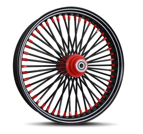 black spokes motorcycle wheel custom