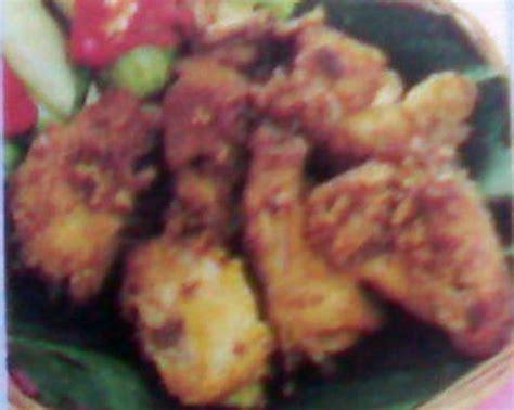 Minyak Kemiri Kuning ayam goreng kemiri resep masakan indonesia