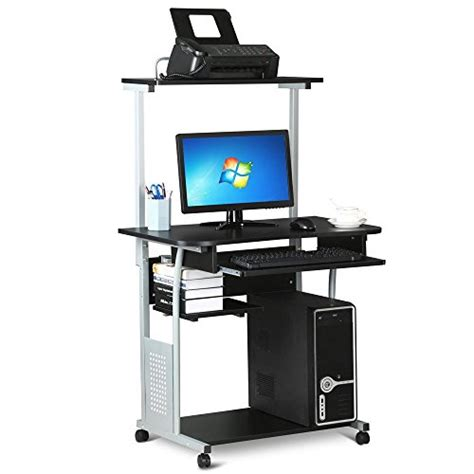 computer desk with hutch for sale top 5 best mobile computer desk with hutch for sale 2017 best deal expert