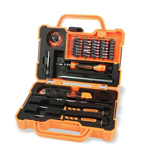 Jakemy 69 In 1 Professional Tool Screwdriver Set Jm 6112 jakemy 45 in 1 professional electronic precision screwdriver set tool box set opening tools