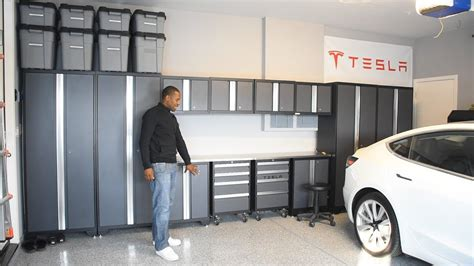 newage products bold  gray steel garage cabinets