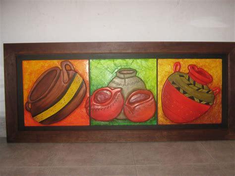 cuadros con texturas buscar con vasijas - Cuadros De Texturas