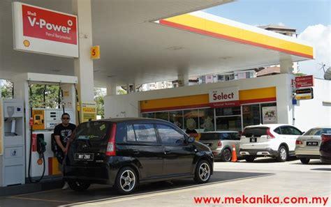 Harga Vans Naik harga petrol dan diesel naik mulai esok mekanika