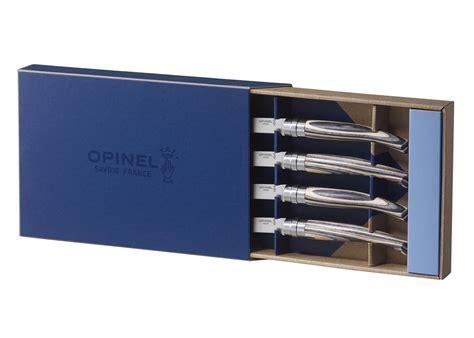 opinel steak knives opinel birchwood handle steak knife set 4 cutlery