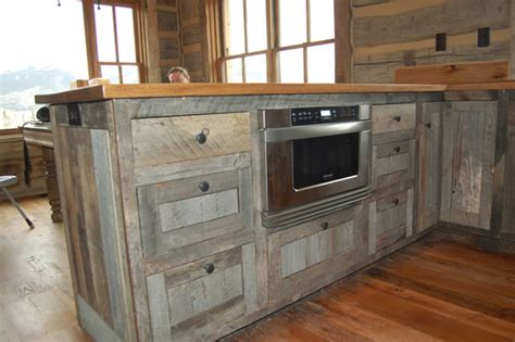 barn wood kitchen cabinets designing your dream kitchen you dont have to stay in the box fence row furniture