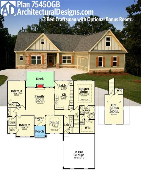 single story house plans with bonus room 1000 ideas about one story houses on pinterest country