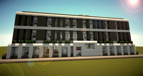 modern office building minecraft project