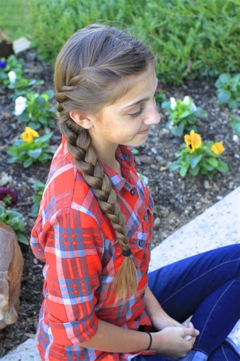 braids into a french roll with sides shaved french twist into side braid cute girls hairstyles