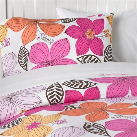 Pink Orange Comforter by Alluring Orange And Pink Bedding Top Home Design Ideas