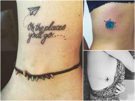 tatuaggi wanderlust con simboli del viaggio foto 4 20
