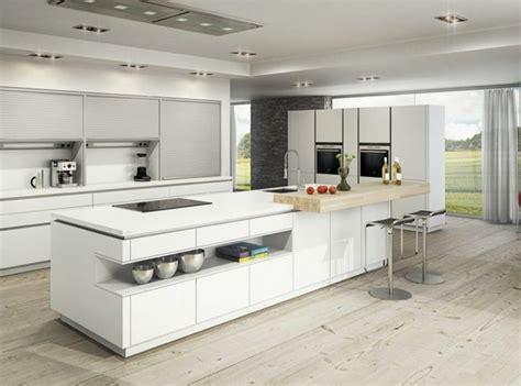 cuisine ilot central design 50 id 233 es d 238 lot central cuisine blanc de design moderne