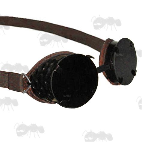 army surplus military goggles steampunk fancy dress glasses