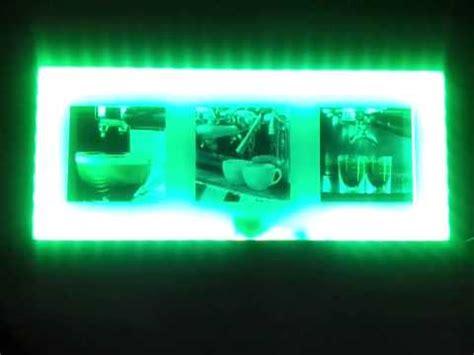schrankbeleuchtung halogen led bilderrahmen mit fernbedienung
