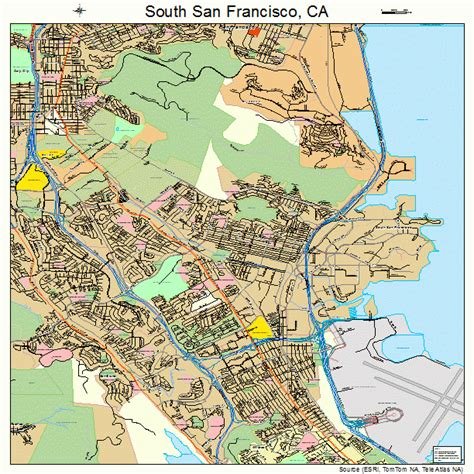 california map of san francisco south san francisco images