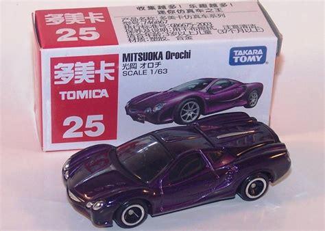 Tomica Mitsuoka Orochi No 25 takara tomy tomica 1 64 size 25 purple mitsuoka orochi ebay