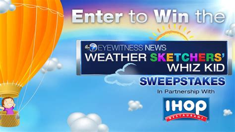 Abc News Sweepstakes - official rules abc 7 eyewitness news weather sketchers whiz kid sweepstakes