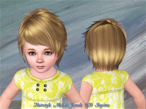 skysims hair toddler 209 i the sims 3 pinterest sims skysims hair 020 toddler
