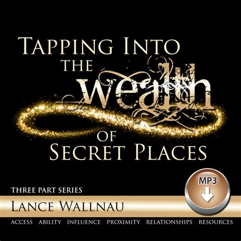 tapping into the wealth of secret places resources from