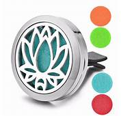 Lotus Flower Essential Oil Diffuser For Car – Charms Of Avalon