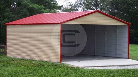 metal carport lean  kit carports garages