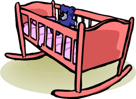 Crib Clipart by Baby Crib Clipart Clipart Best