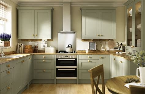 Olive Wood Kitchen Cabinets by Create A Classic Shaker Look With Oxford Olive Green The