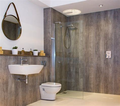 paneling for bathroom walls bushboard s nuance laminate wallpanels allow retailers to