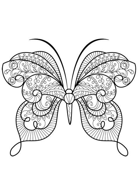 farfalle con fiori farfalle e fiori da colorare