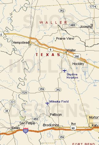 waller county texas map waller county images