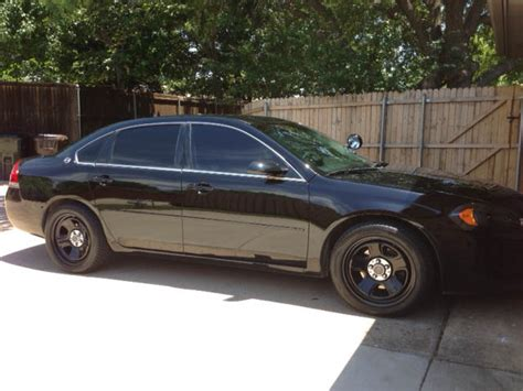 Pics: Charger Police Wheels on Impala 9C1   Chevy Impala