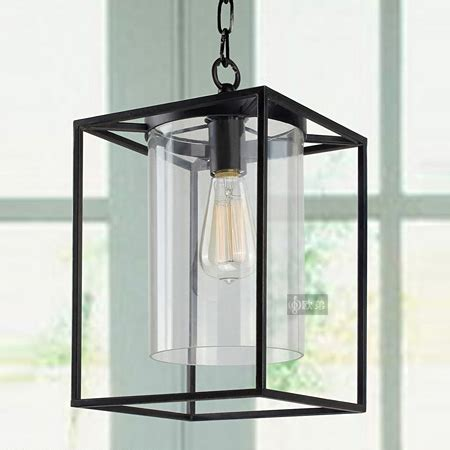 Black Square Chandelier Ican Style Tieyi Chandelier Asian Black Square Frame Glass