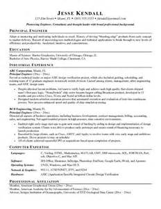 Principal Resume Samples Example Principal Engineer Resume Sample