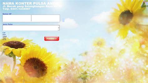 Software Isi Pulsa Konter Pulsa Otomatis Isi Sendiri software konter pulsa otomatis gratis software