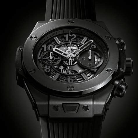 Jam Hublot Big Black Best Clone hublot big unico all black replica watches cheap tag heuer replica watches for sale uk