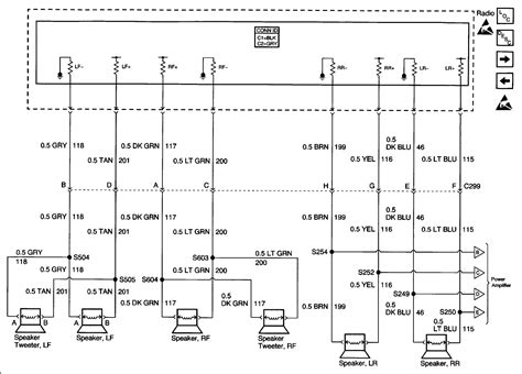 cadillac escalade bose wiring diagram cadillac get free image about wiring diagram