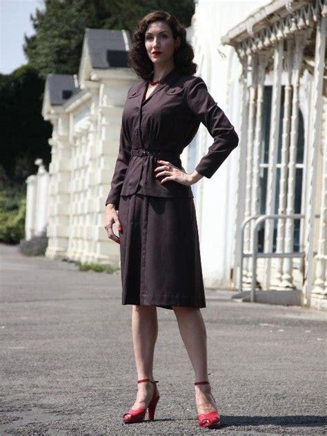 1940s wartime suit legalista style